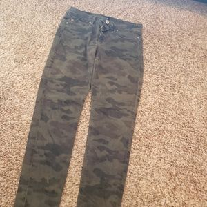 Hudson camo jeans size 29